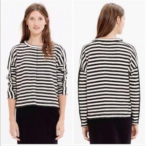 Madewell Slub Striped Pullover